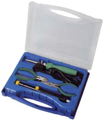 Lötkolbenset Werkzeugset Lötkolben Lötzinn Koffer
