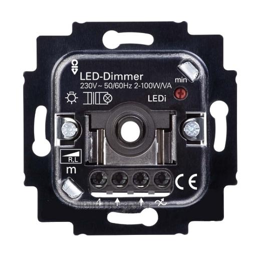 led dimmer unterputz up 230v 2 100w dimmer. Black Bedroom Furniture Sets. Home Design Ideas