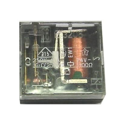 relais 24v dc spule f4011 1xum 10a 250v liegend 24v spule printrelais relais bauelemente. Black Bedroom Furniture Sets. Home Design Ideas